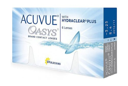 Контактные линзы ACUVUE® OASYS with HYDROCLEAR® Plus